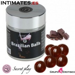 Brazilian balls 6 uds. · Aroma chocolate · Secret Play