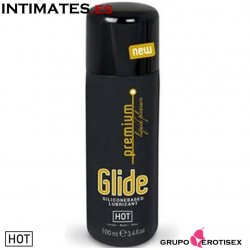 Glide Premium Liquid Pleasure · Lubricante silicona · Hot