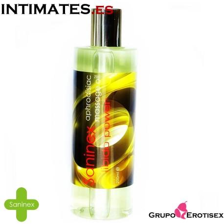 Libido Power · Aceite afrodisíaco · Saninex