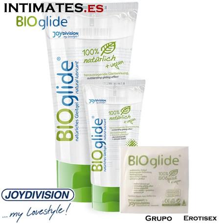 """BIOglide · Lubricante natural y vegano 4 ml  · JoyDivision en intimates.es """"Tu Personal Shopper Erótico Online"""""""