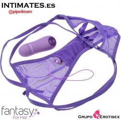 Cheeky panty thrill-her · Braguitas con bala vibradora ·  Fantasy For Her