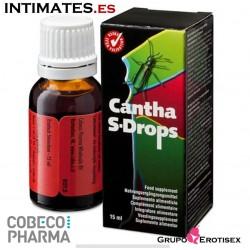 Cantha S-Drops · Estimula el deseo sexual · Cobeco