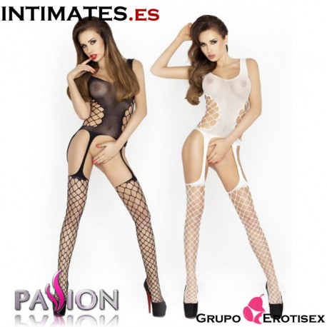"""BS019  ·  Bodystocking negro  · Passion en intimates.es """"Tu Personal Shopper Erótico Online"""""""