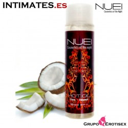 Hot Oil Coco*** · Aceite efecto calor 100 ml · Nuei
