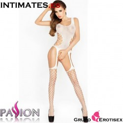 BS019 ·  Bodystocking blanco · Passion