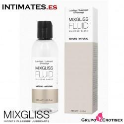 Fluid Nature 100 ml · Lubricante a Base de Silicona · Mixgliss