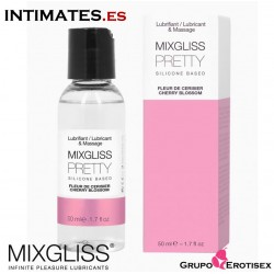 Pretty*** 50 ml · Lubricante a Base de Silicona · Mixgliss