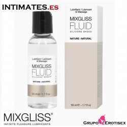 Fluid Nature 50 ml · Lubricante a Base de Silicona · Mixgliss