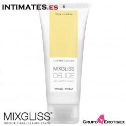 Délice 70 ml · Lubricante aroma a vainilla · Mixgliss