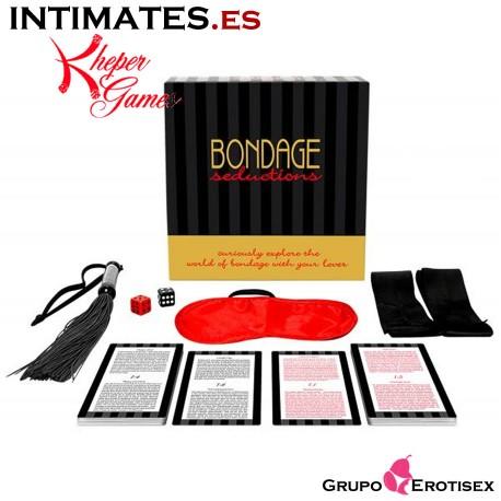 """Seducción Bondage · Kit excitante · Kheper Games en intimates.es """"Tu Personal Shopper Erótico Online"""""""