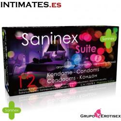 Suite 144 uds. ·  Preservativos aromatizados · Saninex
