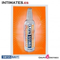 Warming · Lubricante a base de agua 5 ml · Swiss Navy