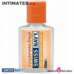Warming · Lubricante a base de agua 20 ml · Swiss Navy