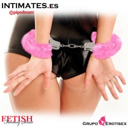 Original Furry Cuffs Pink · Fetish Fantasy Series