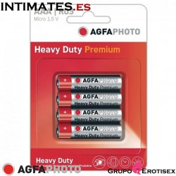 Heavy Duty Premium Batteries | Pack of 4 · AGFA Photo