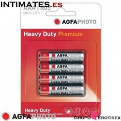 Heavy Duty Premium Batteries | Pack of 4 · AGFA Photo