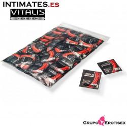 Color & Flavor · Preservativo rojo sabor fresa 100 uds. · Vitalis