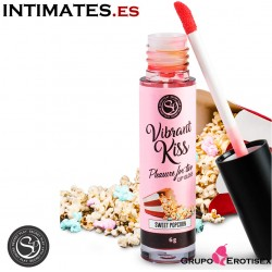 Lip Gloss Palomitas Dulces · Brillo labial con ondas de vibración · Secret Play