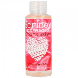 SANINEX ORGASMIC MULTIPLE ACEITE DE MASAJE 100 ML