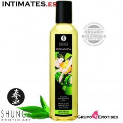 Organica Té Verde · Aceite de masaje · Shunga