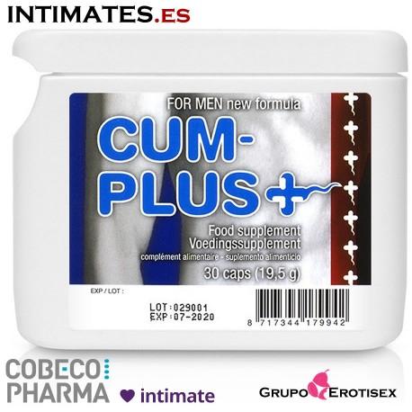 Cum Plus FlatPack · Potencia el esperma · Cobeco