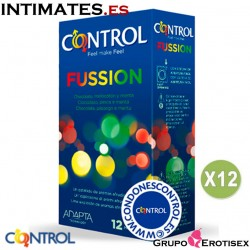 Fussion · 12 Preservativos - Pack 12 uds. · Control