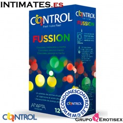 Fussion · 12 Preservativos · Control