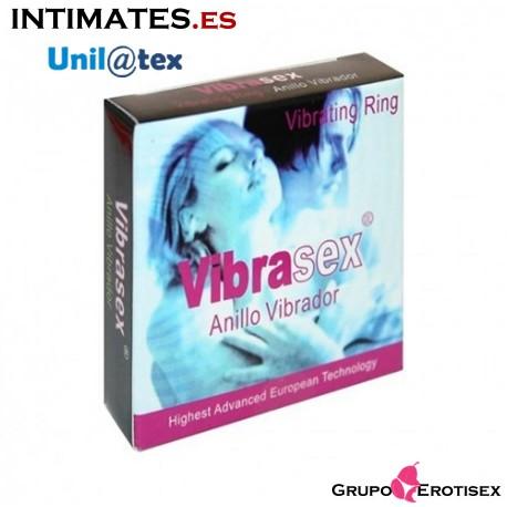 """Vibrasex® · Anillo Vibrador Sexual de Unilatex, que puedes adquirir en intimates.es """"Tu Personal Shopper Erótico Online"""""""