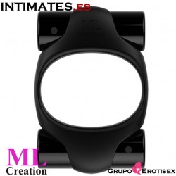 Power Ring Black · Anillo recargable USB · MLCreation