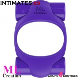 Power Ring Purple · Anillo recargable USB · MLCreation