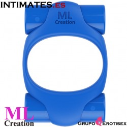 Power Ring Blue · Anillo recargable USB · MLCreation