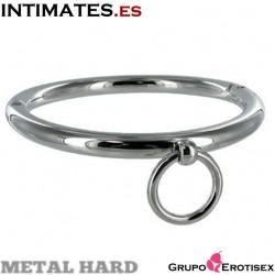 Collar de esclavo con argolla 18 cm - Metal Hard