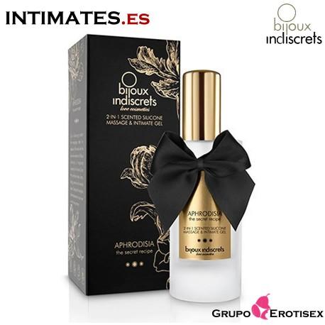 """Aphrodisia 2 en 1 · Gel de silicona de Bijoux Indiscrets, que puedes adquirir en intimates.es """"Tu Personal Shopper Erótico Online"""""""