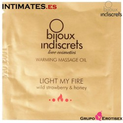 Light my Fire Fresa · Aceite de masaje efecto calor 3 ml · Bijoux
