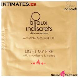Light my Fire Fresa · Aceite de masaje efecto calor 3 ml · Bijoux