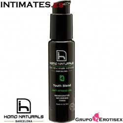 Youth Blend Gel · Regenerante + Revitalizante + Hidratante · Homo Naturals
