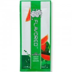 WET FLAVORED LUBRICANTE BASE AGUA SANDIA 10 ML