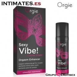 Sex Vibe! Intense Orgasm · Vibrador liquido 15ml · Orgie