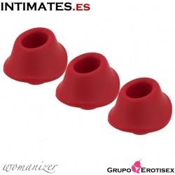 Heads Classic · Cabezal Rojo 3 uds. · Womanizer