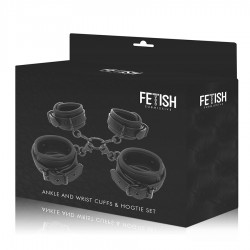 FETISH SUBMISSIVE SET ESPOSAS MANOS Y TOBILLOS