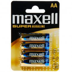 MAXELL PILA SUPER ALKALINE AA LR6 BLISTER*4