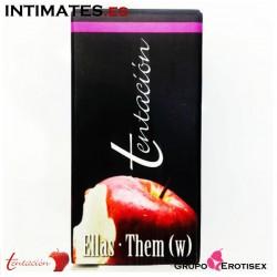 Tentación Ellas · Perfume de feromonas Les · Eurocents