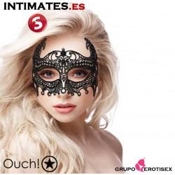Empress Black Lace · Máscara veneciana negra · Ouch!