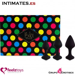 Bibi · Set de 3 Plugs anales · FeelzToys™
