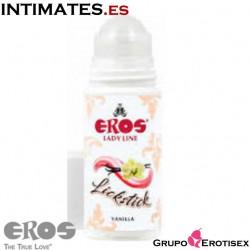 Lickstick Vainilla · Lubricante estimulante 60ml · Eros Lady Line