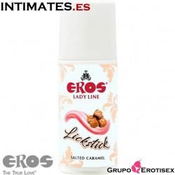 Lickstick Caramelo · Lubricante estimulante 60ml  · Eros Lady Line