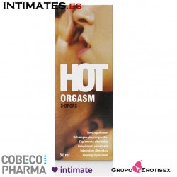 Hot Orgasm · Estimula el deseo sexual · Cobeco