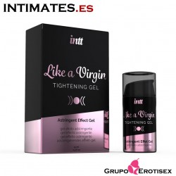 Like a Virgin 15 ml · Estrechamiento de los músculos vaginales · intt