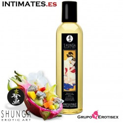Irresistible · Aceite de masaje erótico · Shunga