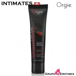 Lube Tube Strawberry · Lubricante besable · Orgie